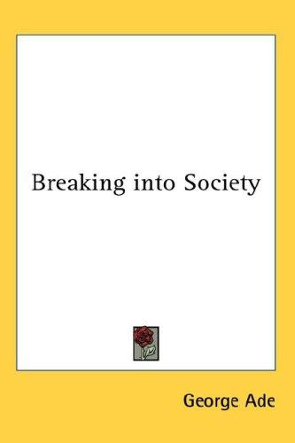 Download Breaking into Society