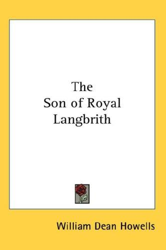 Download The Son of Royal Langbrith