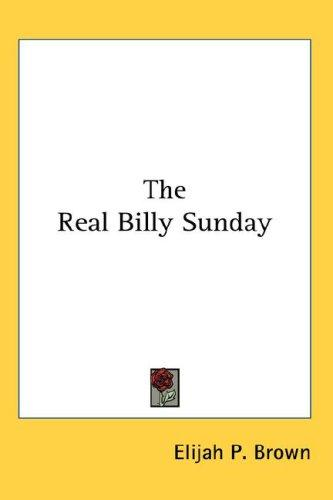 Download The Real Billy Sunday