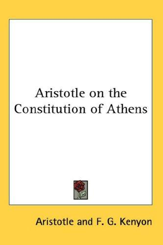 Download Aristotle on the Constitution of Athens