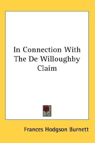 Download In Connection With The De Willoughby Claim