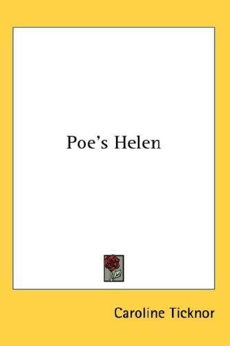 Download Poe's Helen