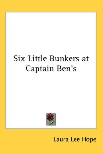 Download Six Little Bunkers at Captain Ben's