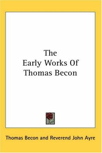 The Early Works Of Thomas Becon