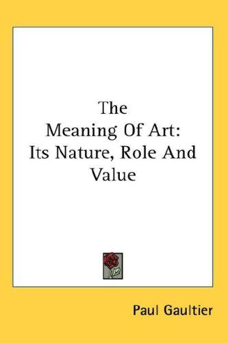 Download The Meaning Of Art