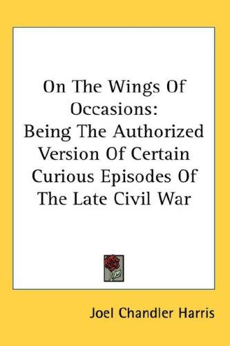 On The Wings Of Occasions