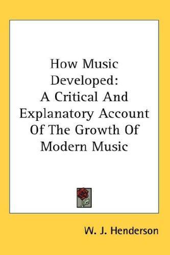 How Music Developed