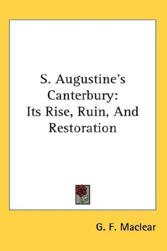 Download S. Augustine's Canterbury
