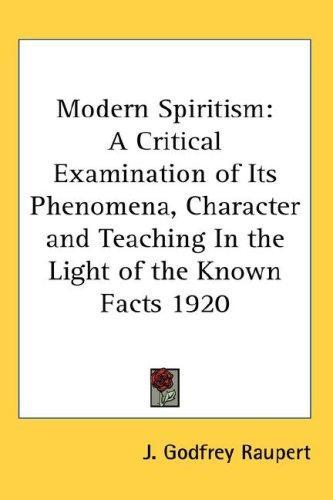 Download Modern Spiritism