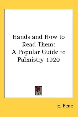 Download Hands and How to Read Them