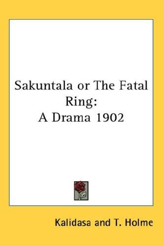 Download Sakuntala or The Fatal Ring