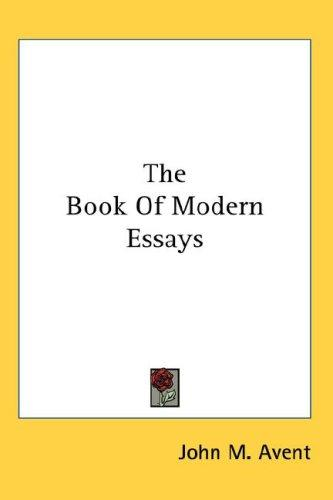 The Book Of Modern Essays