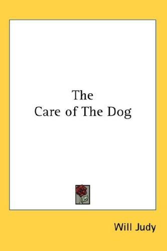 Download The Care of The Dog