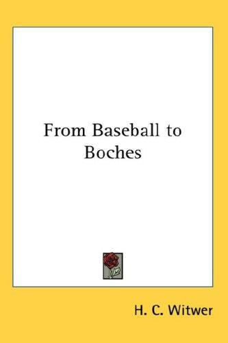 Download From Baseball to Boches
