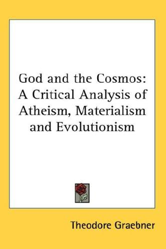 Download God and the Cosmos
