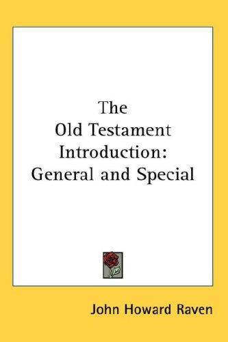 The Old Testament Introduction