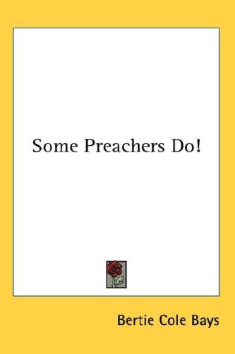 Download Some Preachers Do!