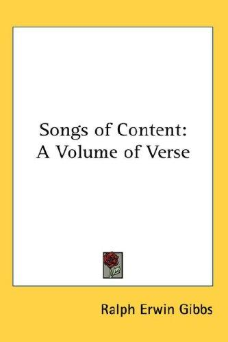 Songs of Content
