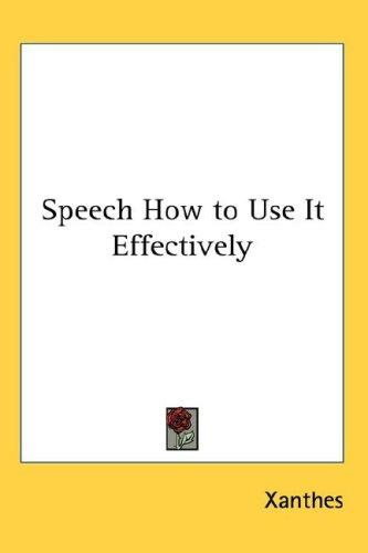 Download Speech How to Use It Effectively