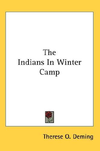 The Indians In Winter Camp