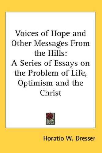 Download Voices of Hope and Other Messages From the Hills