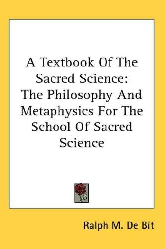 Download A Textbook Of The Sacred Science