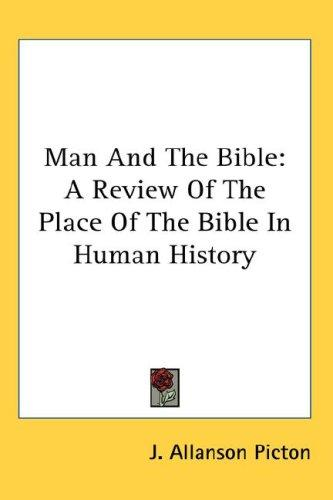 Man And The Bible