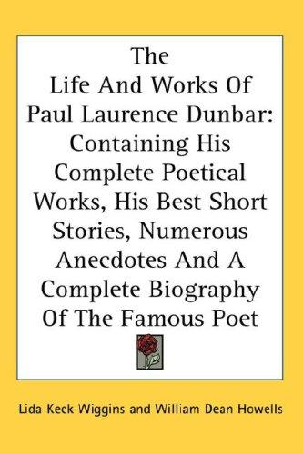 Download The Life And Works Of Paul Laurence Dunbar