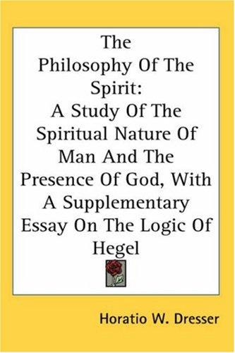 Download The Philosophy Of The Spirit