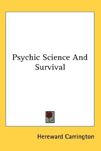 Download Psychic Science And Survival