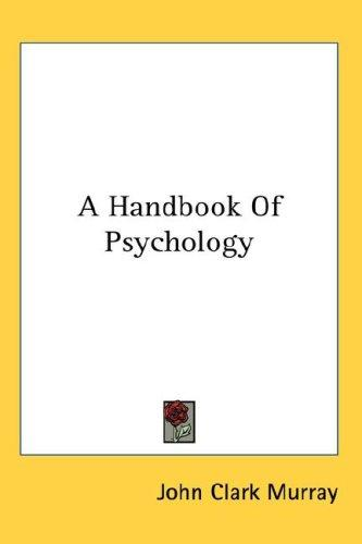 Download A Handbook Of Psychology