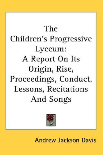 The Children's Progressive Lyceum