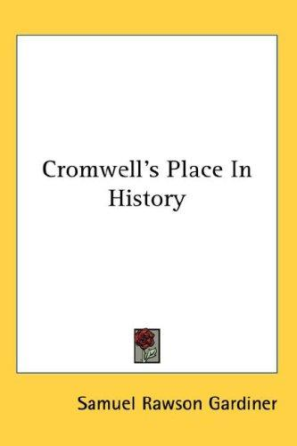 Download Cromwell's Place In History