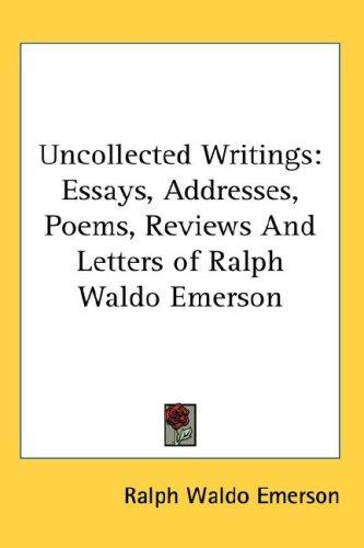 Uncollected Writings