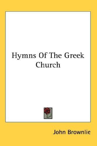 Hymns Of The Greek Church
