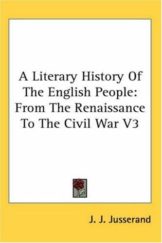 Download A Literary History Of The English People