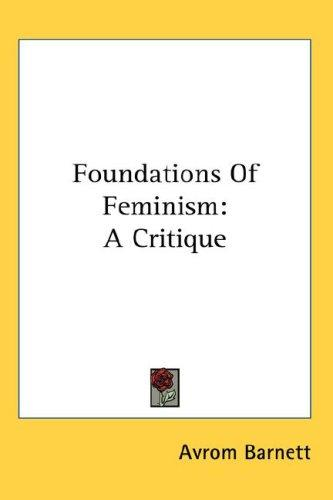 Foundations Of Feminism