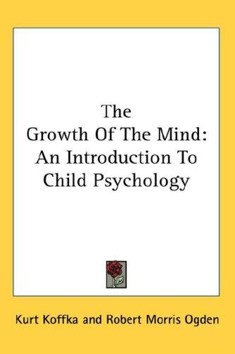 Download The Growth Of The Mind