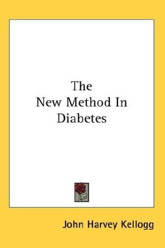 Download The New Method In Diabetes