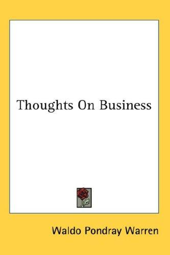 Thoughts On Business