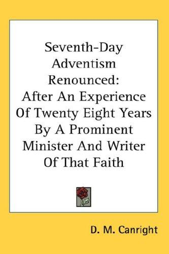 Download Seventh-Day Adventism Renounced
