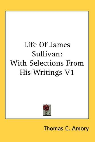 Life Of James Sullivan