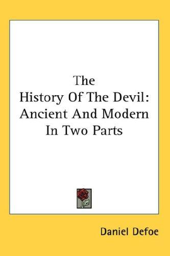 Download The History Of The Devil