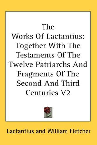 Download The Works Of Lactantius