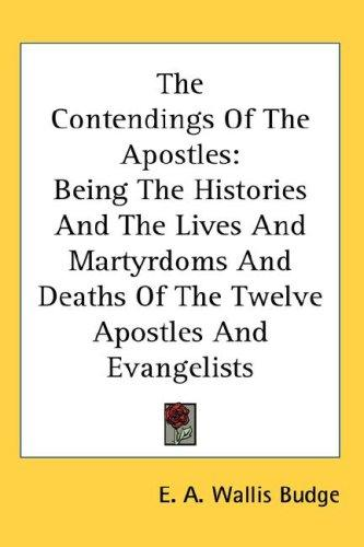 The Contendings Of The Apostles