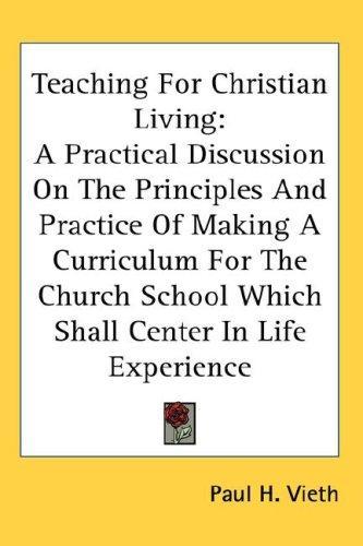 Teaching For Christian Living