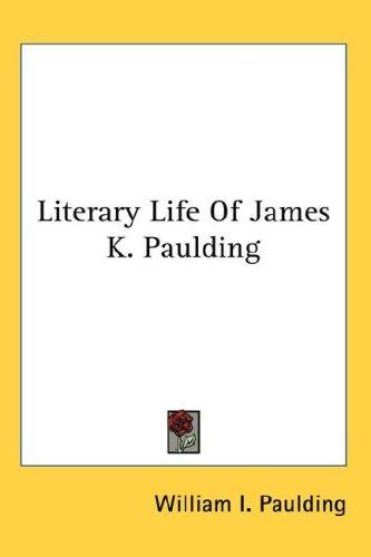 Download Literary Life Of James K. Paulding