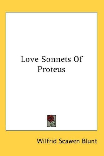 Download Love Sonnets Of Proteus