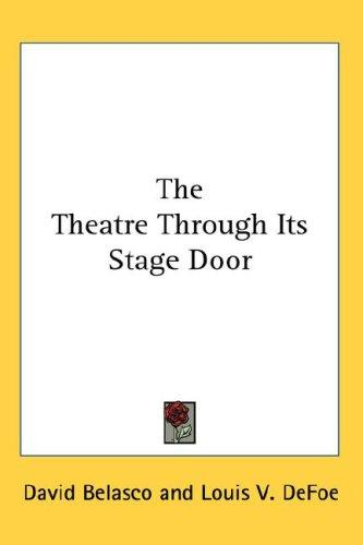 Download The Theatre Through Its Stage Door