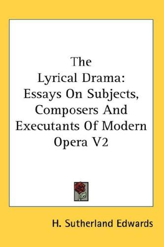 The Lyrical Drama